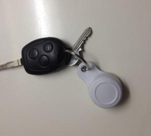 Chaveiro Push para controlar a iluminação da automação