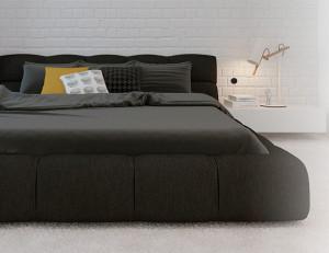 Push instalado ao lado da cama controla a iluminação da Smart Home